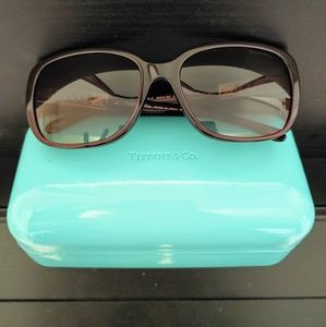 Tiffany sunglasses with case